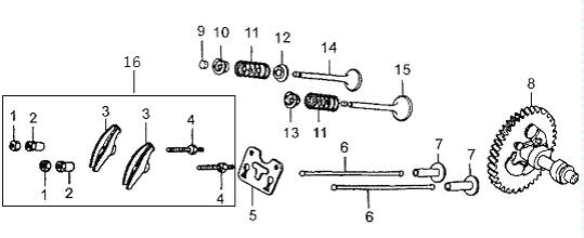 Honda GX340 Parts Quality aftermarket parts for Honda GX Engines – Honda Gx390 Engine Diagram