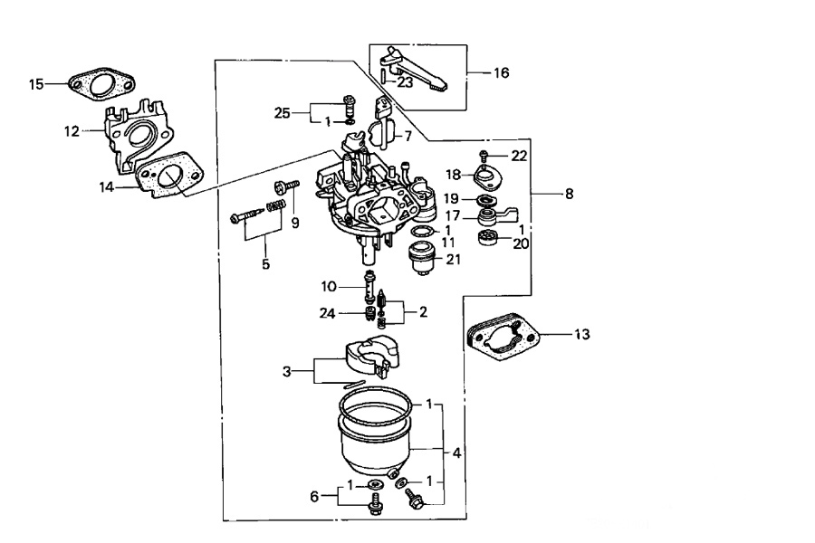 honda small engine diagram honda wiring diagrams
